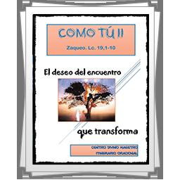 Itinerario oracional profesores