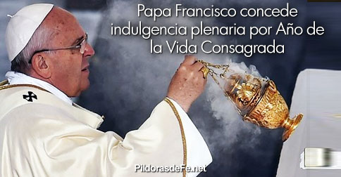papa francisco indulgencia consagrados